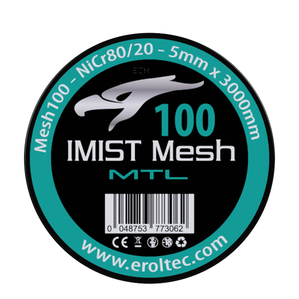IMIST 3 Meter NiCr80 MTL Mesh Wire 100 Wickeldraht