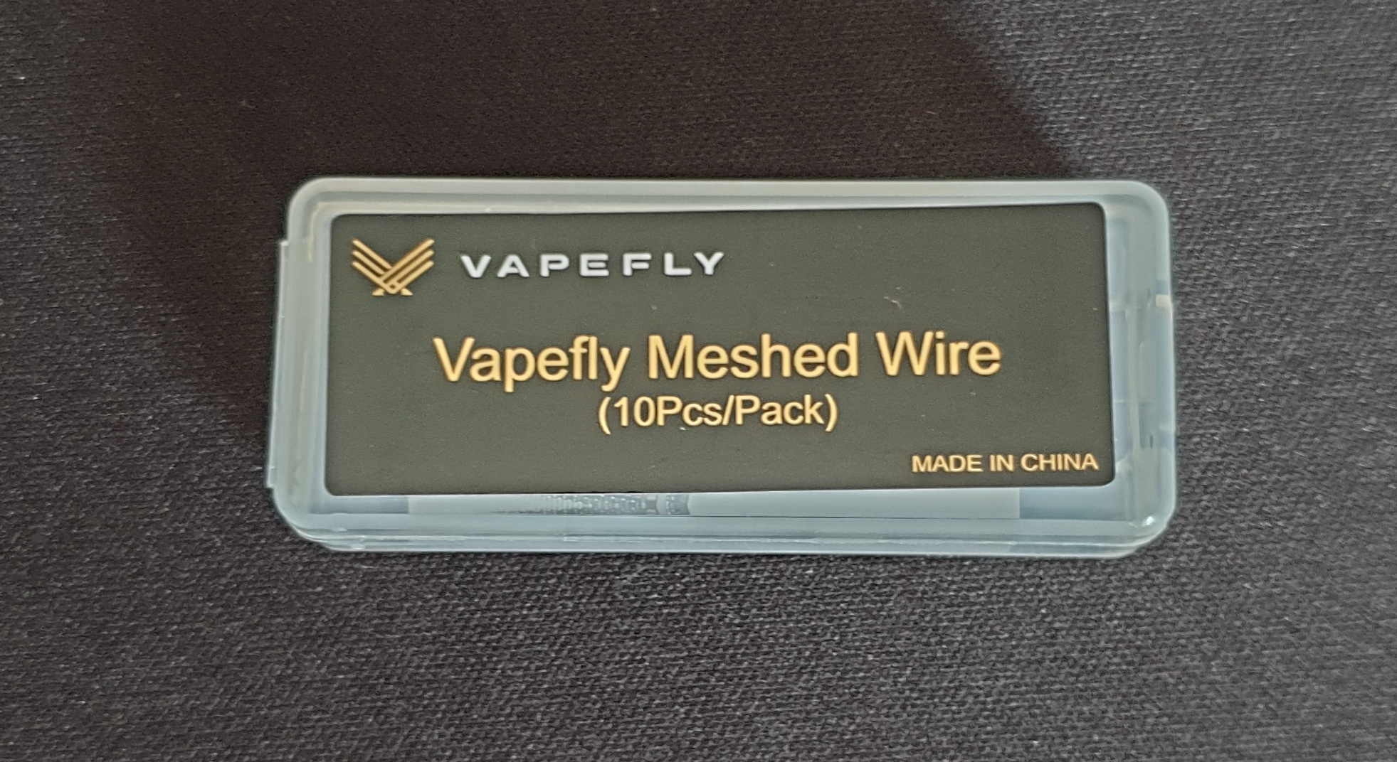 10 x 10 St. Vapefly Siegfried RTA KA1 Grid Mesh Wire - M4 = 100 Coils