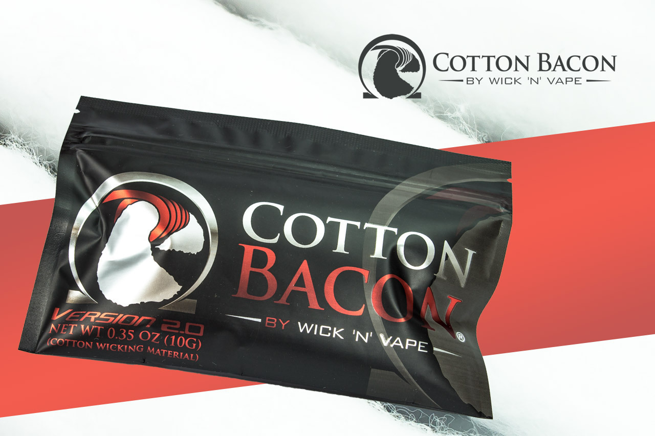 Cotton Bacon V2 Wickelwatte by Wick´n Vape