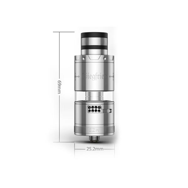 Vapefly Siegfried Kit Blau Gunmetal Limited