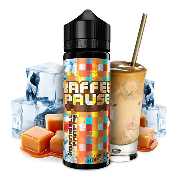 Steamshots Kaffeepause Karamell Frappé Ice Aroma 20ml