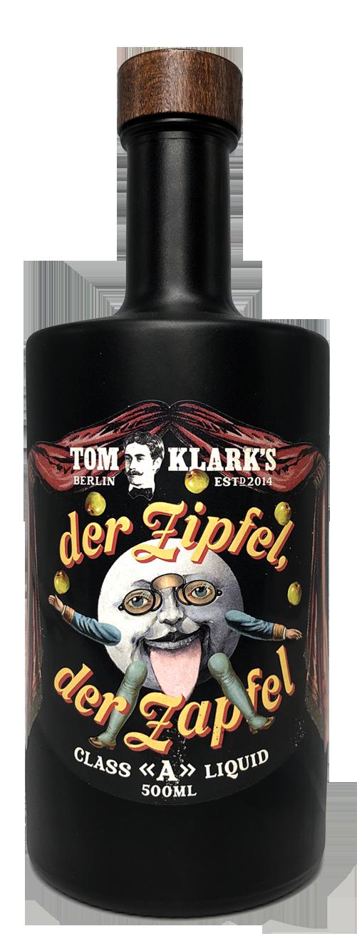 TOM KLARK Glasflasche  Der Zipfel Der Zapfel 500ml Kapazität (Leerflasche)