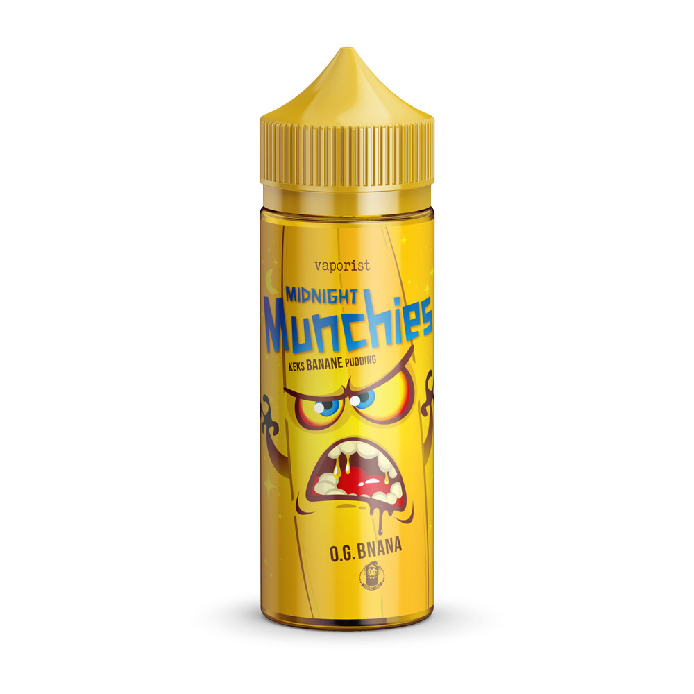 VAPORIST Midnight Munchies O.G. BNANA 100ml E Liquid 0mg