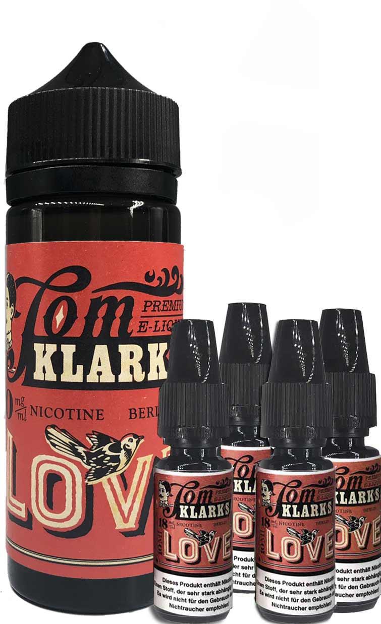 TOM KLARK LOVE Premium Liquid 120ml 6mg