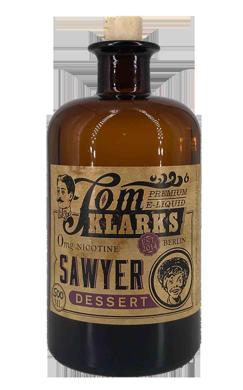 TOM KLARK Glasflasche  Dessert 500ml Kapazität (Leerflasche)