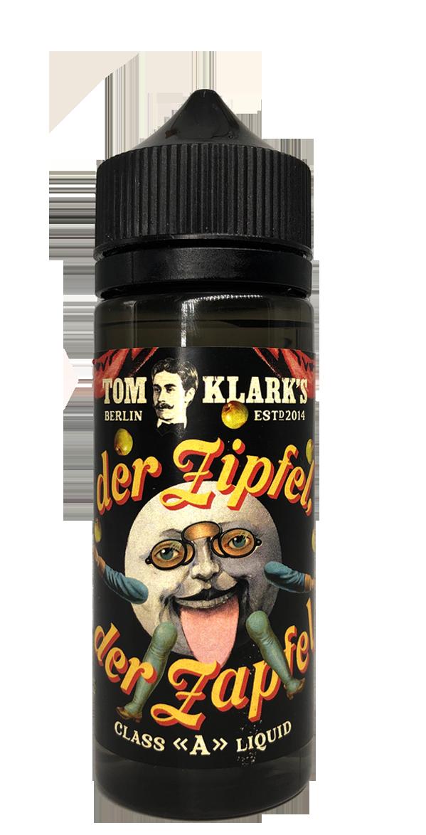TOM KLARK Der Zipfel Der Zapfel Premium Liquid 120ml 0mg ohne Nikotin