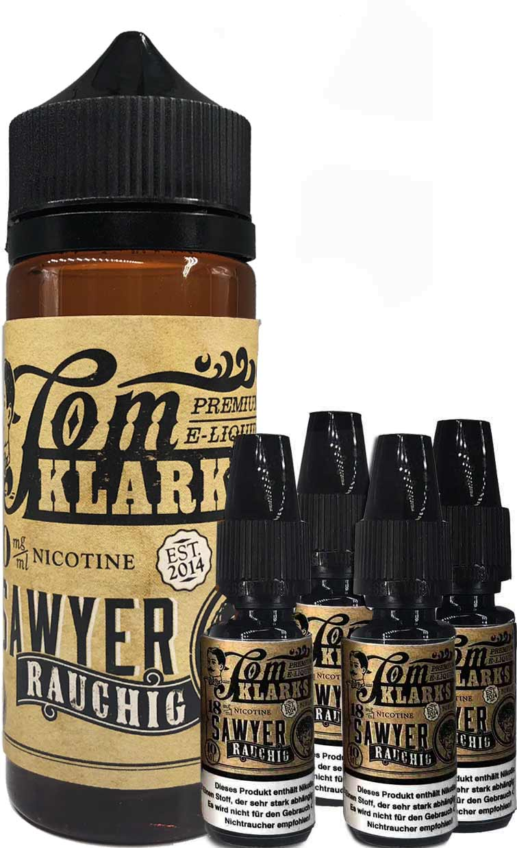 TOM KLARK Rauchig Premium Liquid 120ml 6mg