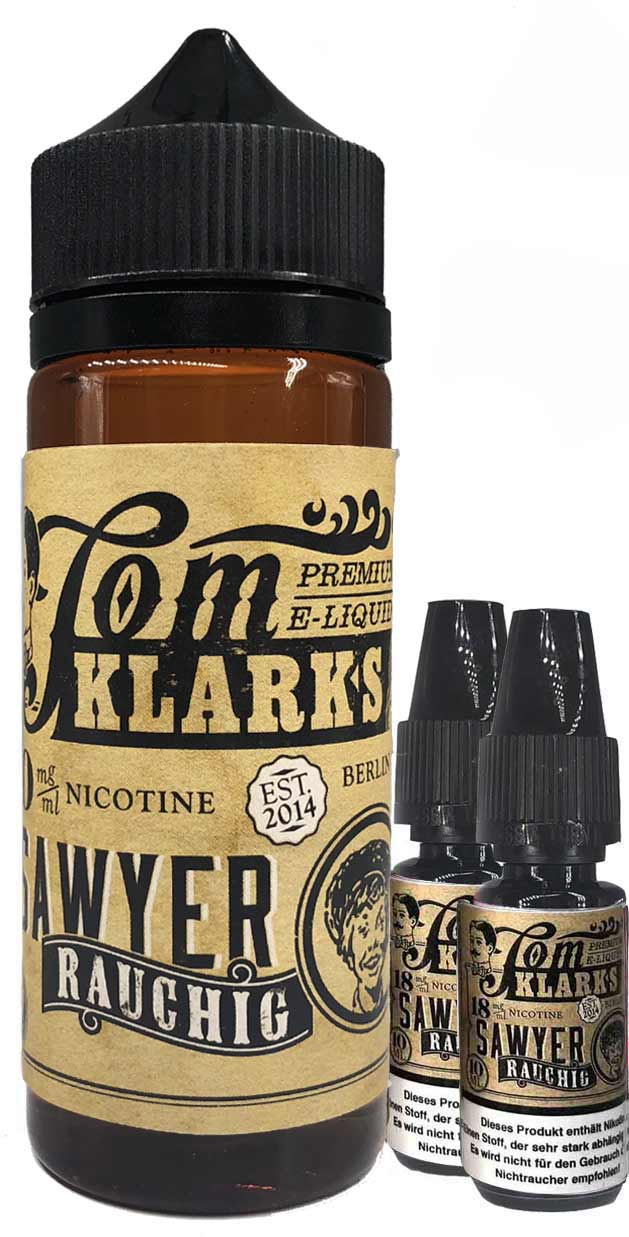 TOM KLARK Rauchig Premium Liquid 120ml 3mg