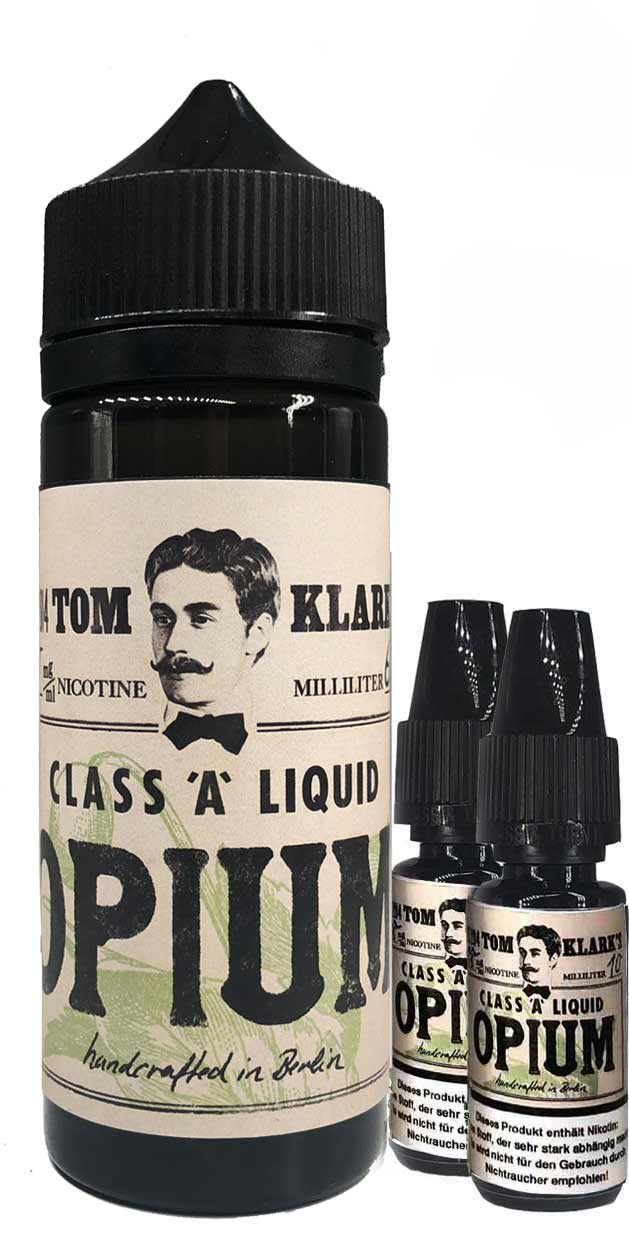 TOM KLARK Opium Premium Liquid 120ml 3mg