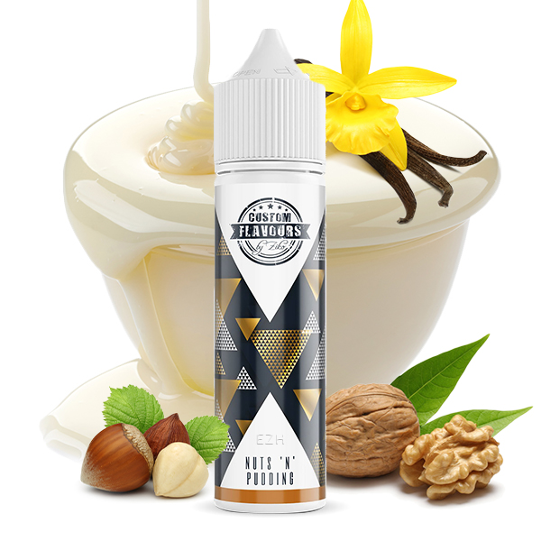 Custom Flavours by ZIKO feat. Kapka's Flava Nuts'n' Pudding Aroma 20ml