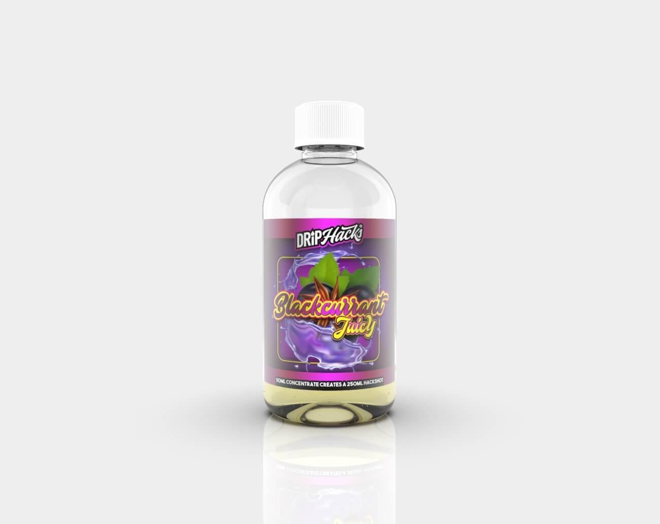 HACKSHOT Blackcurrant Juicy by Drip Hacks 250ml