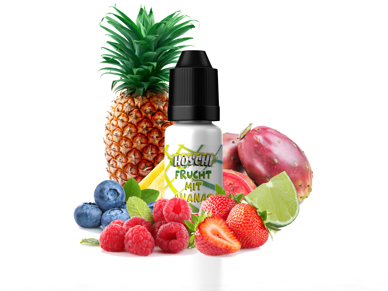 HOSCHI Frucht mit Ananas 10ml Aroma