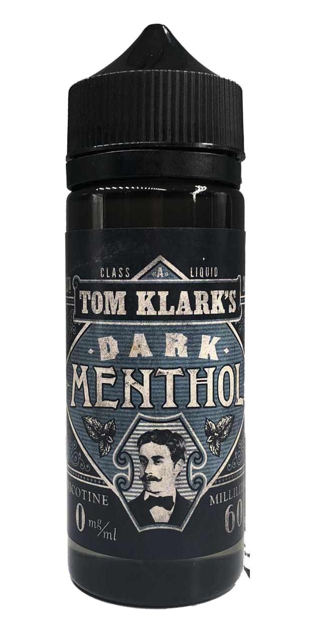 TOM KLARK Dark Menthol Premium Liquid 120ml 0mg ohne Nikotin