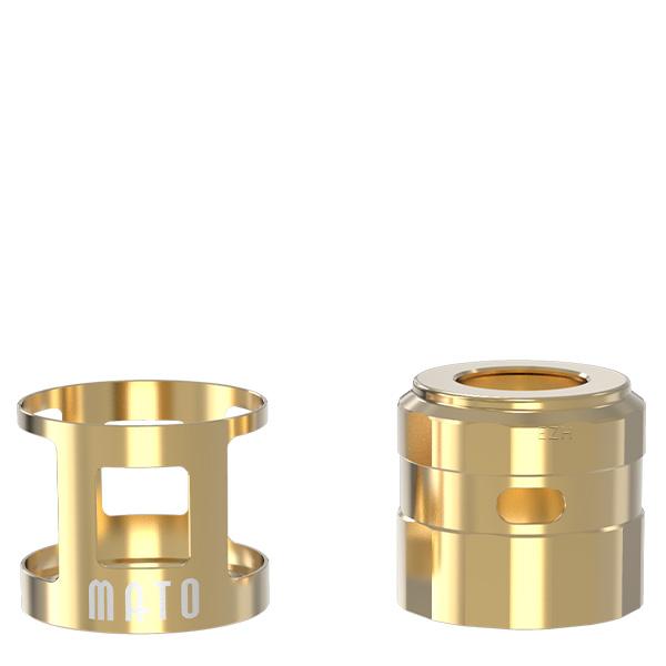 Vandy Vape Mato RDTA Tankshield und Topcap Farbe Gold
