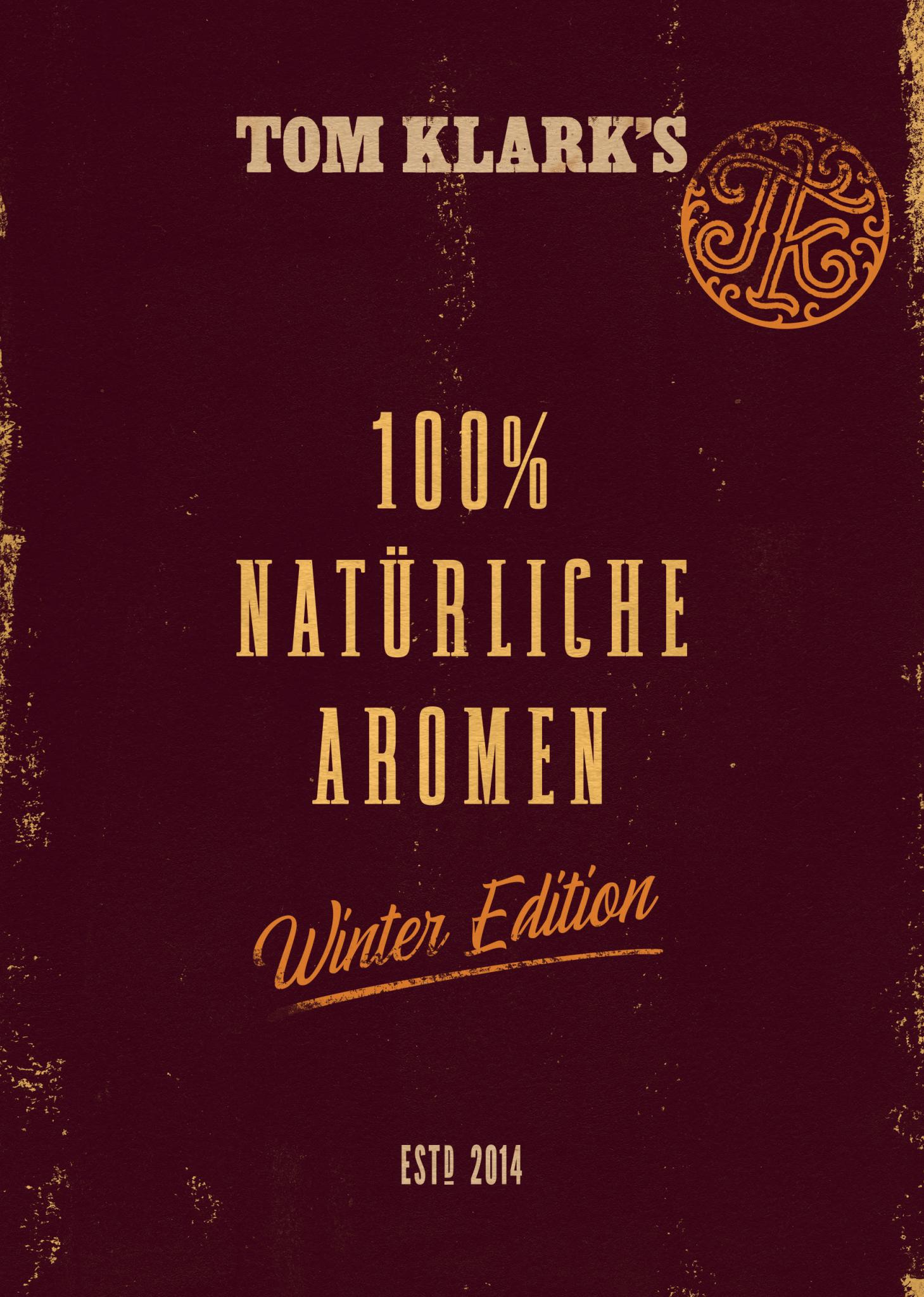 TOM KLARK's Natürliche Aromen Winter Edition No. 5 Rum Orangenblüte Aroma 10ml
