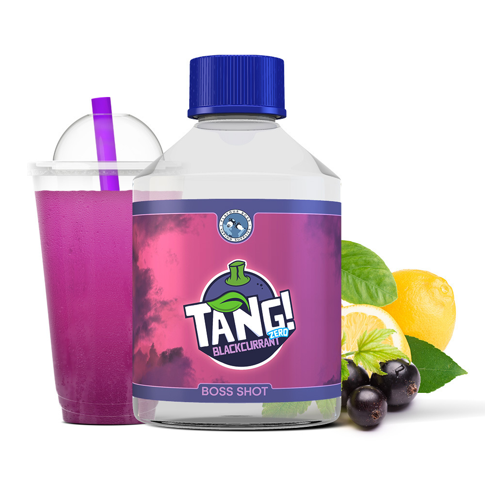 BOSS SHOT Tang! Blackcurrant ZERO by Flavour Boss 500ml