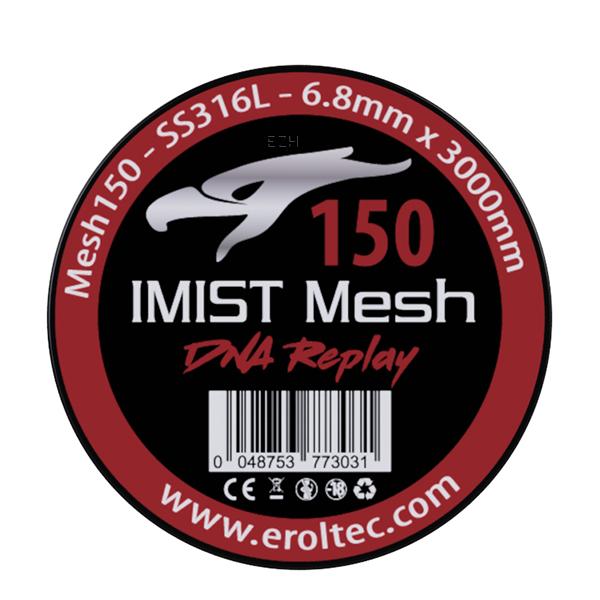 IMIST 3 Meter SS316L Mesh Wire 150 Wickeldraht