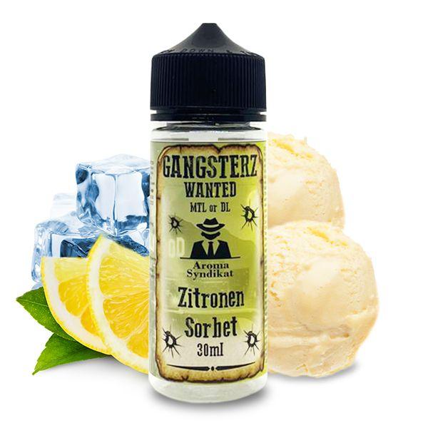 GANGSTERZ Wanted Zitronen Sorbet Aroma 30ml