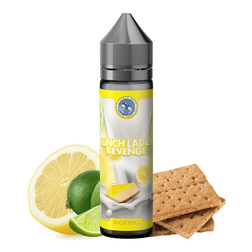 Flavour Boss Lunch Ladies Revenge Premium Liquid 50ml
