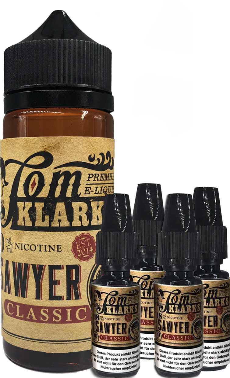 TOM KLARK Classic Premium Liquid 120ml 6mg