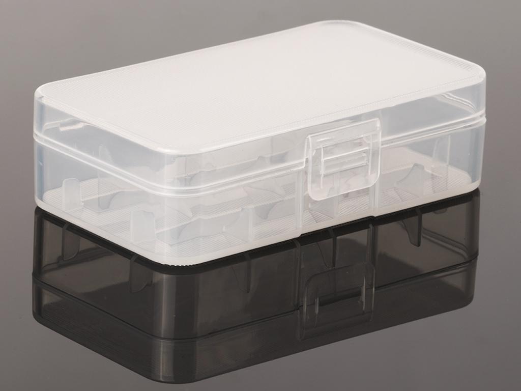 Aufbewahrungsbox Hardcover Case für 2 x 20700 / 21700 Akku