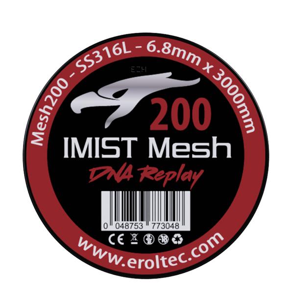 IMIST 3 Meter SS316L Mesh Wire 200 Wickeldraht