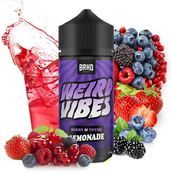 Weird Vibes by Barehead Berry & Thyme Aroma 20ml