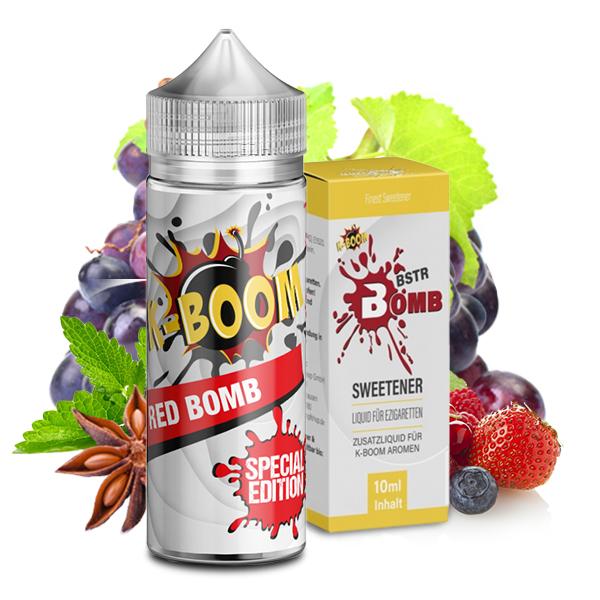 K-Boom Red Bomb / BSTR Bomb Sweetener Bundle