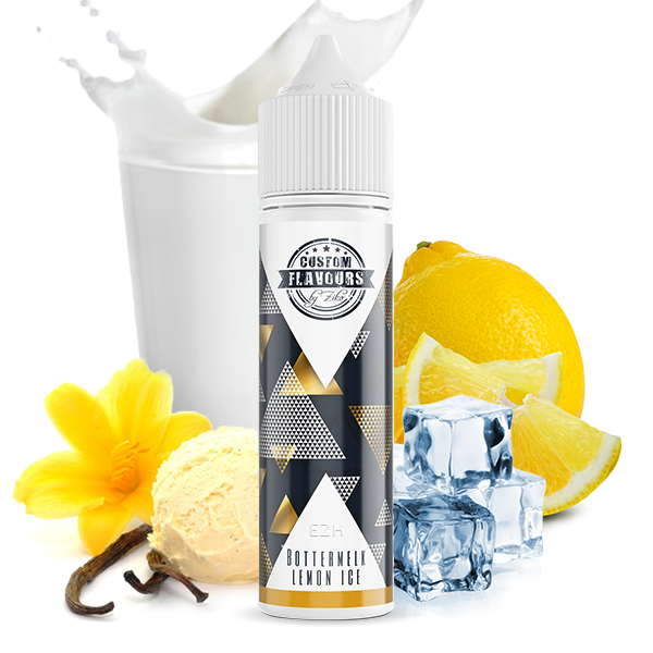 Custom Flavours by ZIKO feat. Kapka's Flava Bottermelk Lemon Ice Aroma 20ml