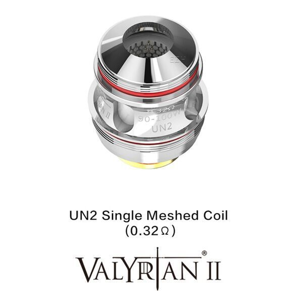 Uwell Valyrian 2 UN 2 Single Meshed Coil 0,32 Ohm