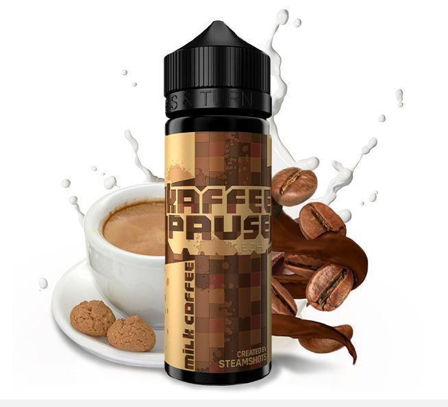 Kaffeepause by Steamshots - Milk Coffee Aroma 20ml
