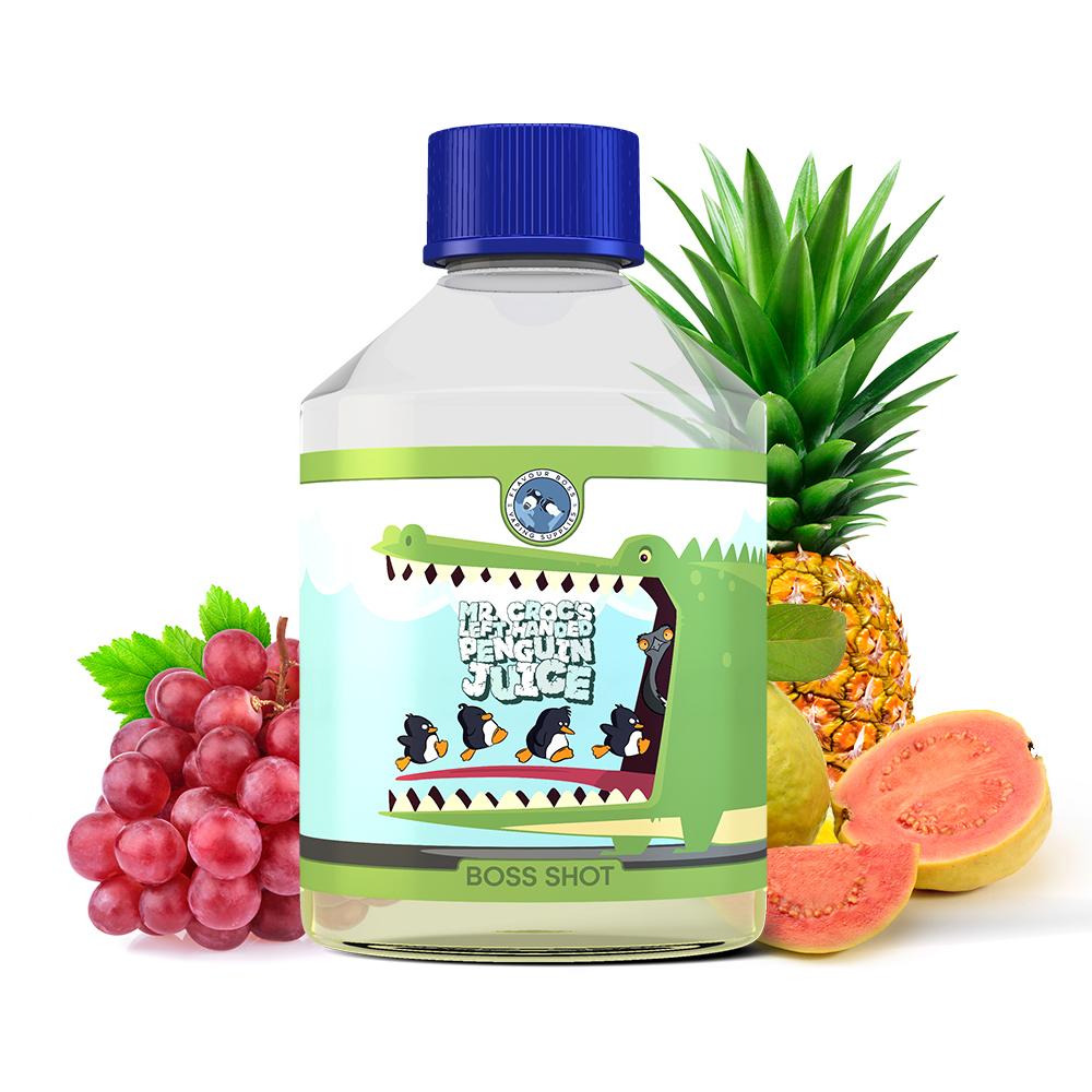 BOSS SHOT Mr. Crocs left handed Penguin Juice 250ml by Flavour Boss
