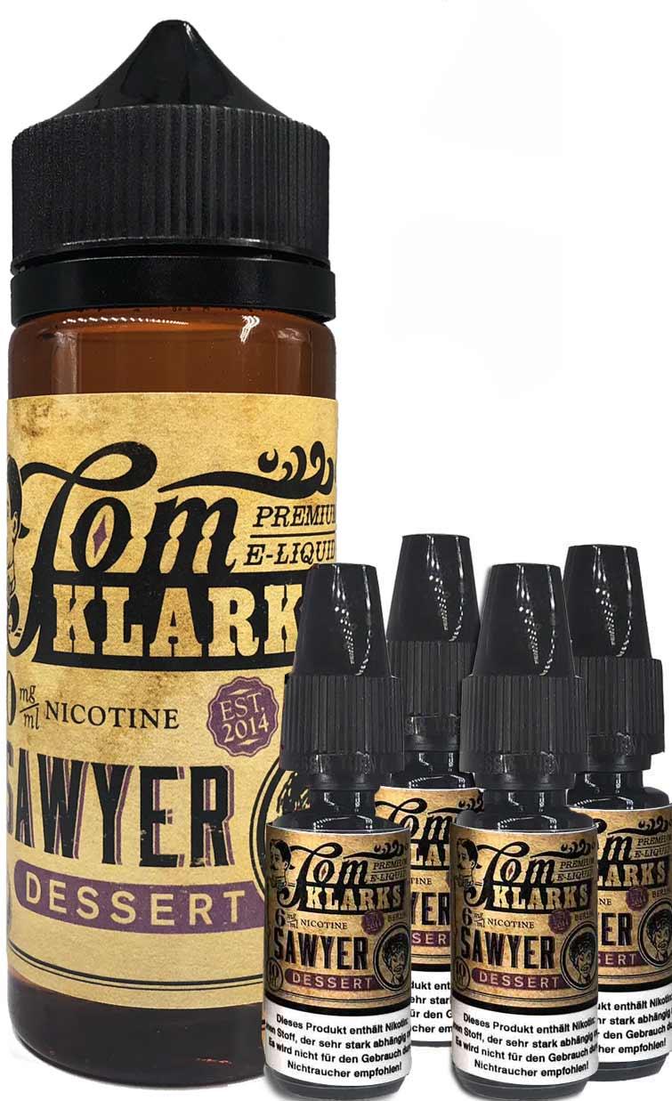 TOM KLARK Dessert Premium Liquid 120ml 6mg