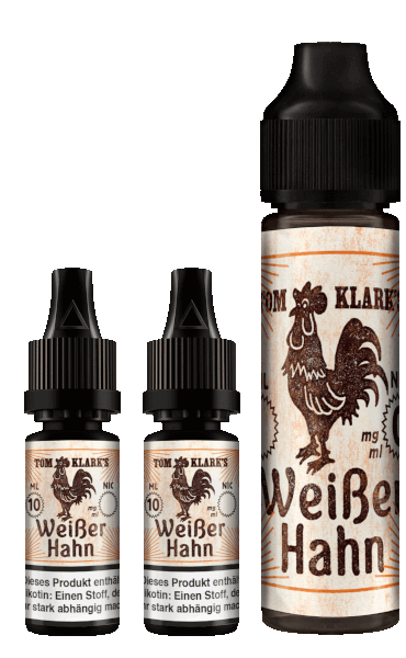 TOM KLARK Weißer Hahn Premium Liquid 60ml 6mg
