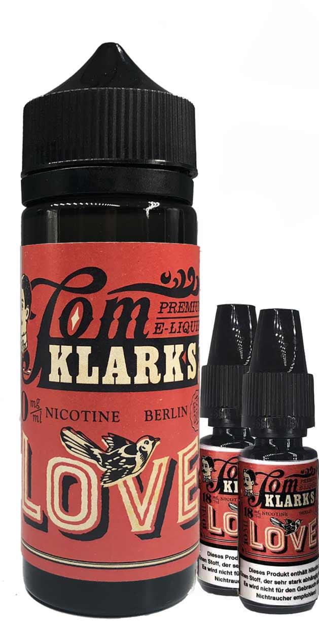 TOM KLARK Love Premium Liquid 120ml 3mg