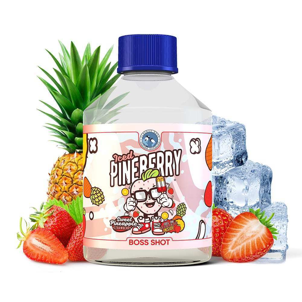 BOSS SHOT Iced Pineberry by Flavour Boss 500ml