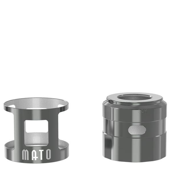 Vandy Vape Mato RDTA Tankshield und Topcap Farbe Gunmetal