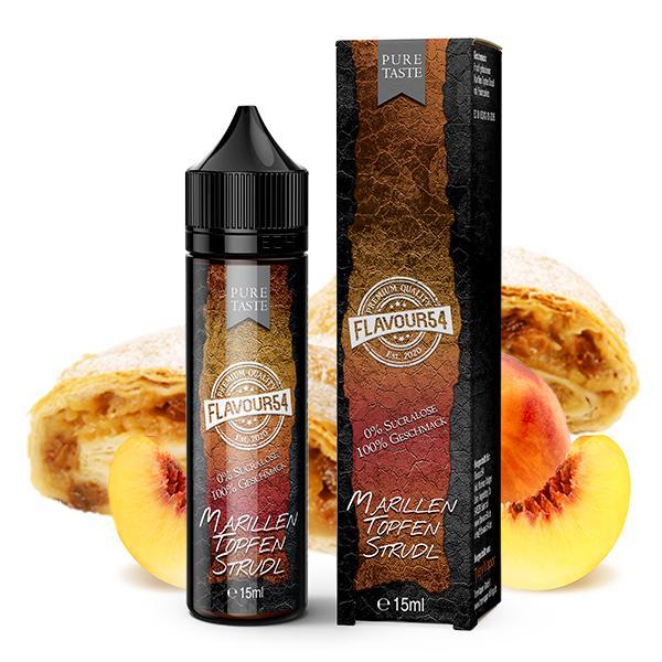 Flavour54 Marillen Topfen Strudl Aroma 15ml