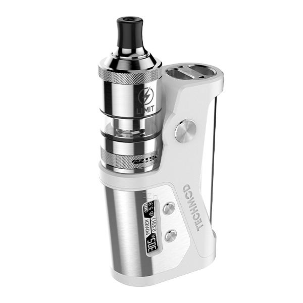 Kizoku Techmod Limit MTL / RTA Kit Weiß / Silber